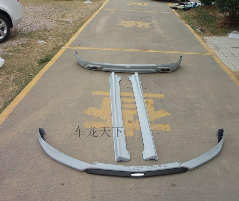 科鲁兹小包围改装专用 掀背车大包围4件套前后唇运动北美高清图片