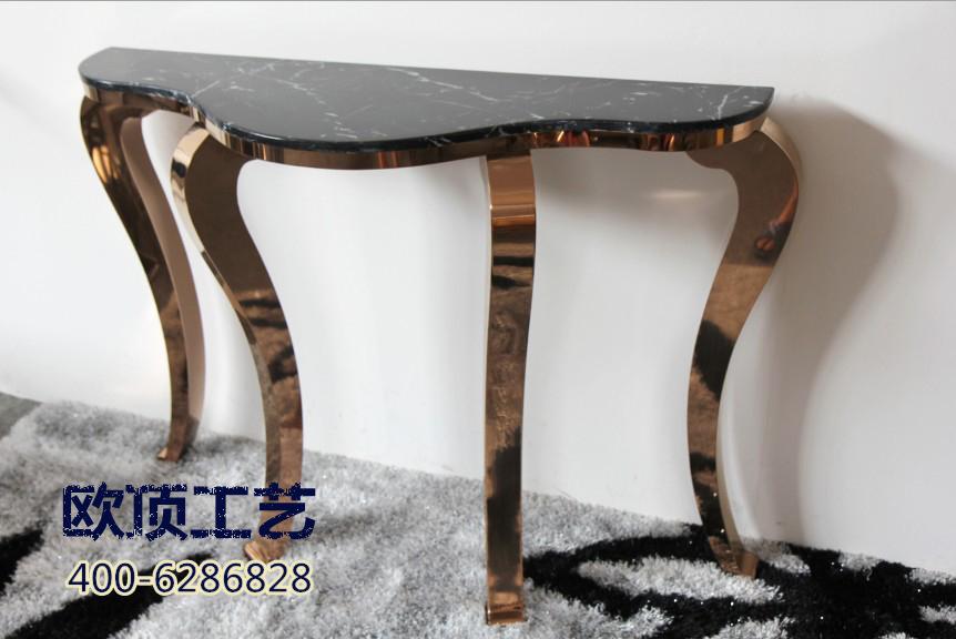 Туалетный столик После Нео классический нержавеющей стали мебель гостиная современные консоли стол зал украшения стол простой Европейский стиль крыльцо