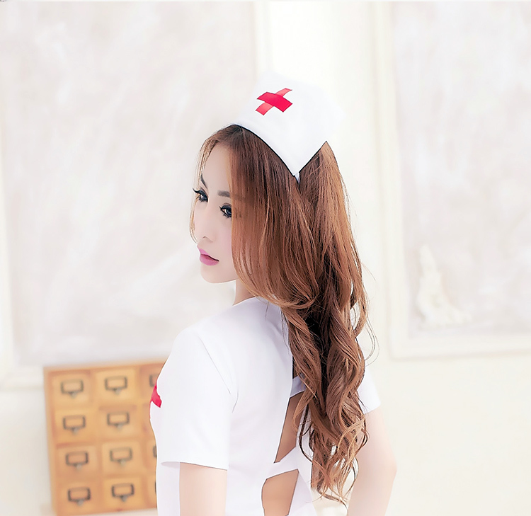 包邮情趣内衣女式丝袜性感大码制服v女式角色扮演套装成人服护士情趣套装装透视图片