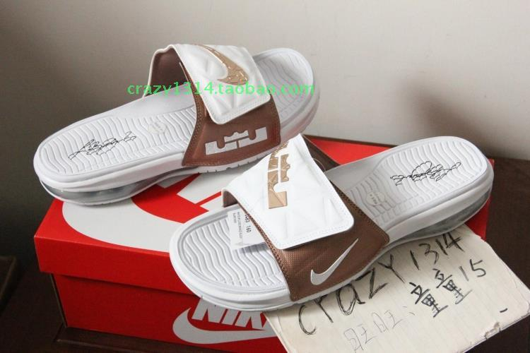 сланцы Nike AIR LEBRON SLIDE LBJ 705483-483-160