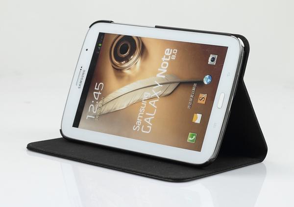 正品三星8寸N5100真皮套Note8.0手机壳N5110平板皮套N5120保护套高清图片