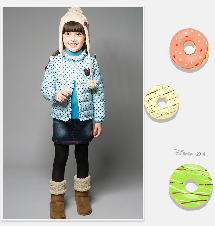 Пуховик детский Disney rd412015/1 12 13 Disney