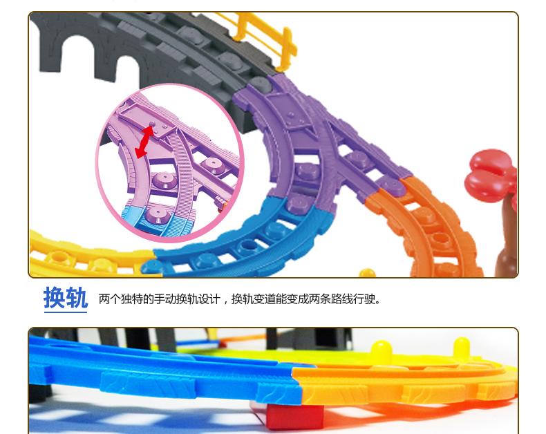 电动儿童玩具火车 托马斯轨道火车套装 托马斯小火车头轨道车玩具