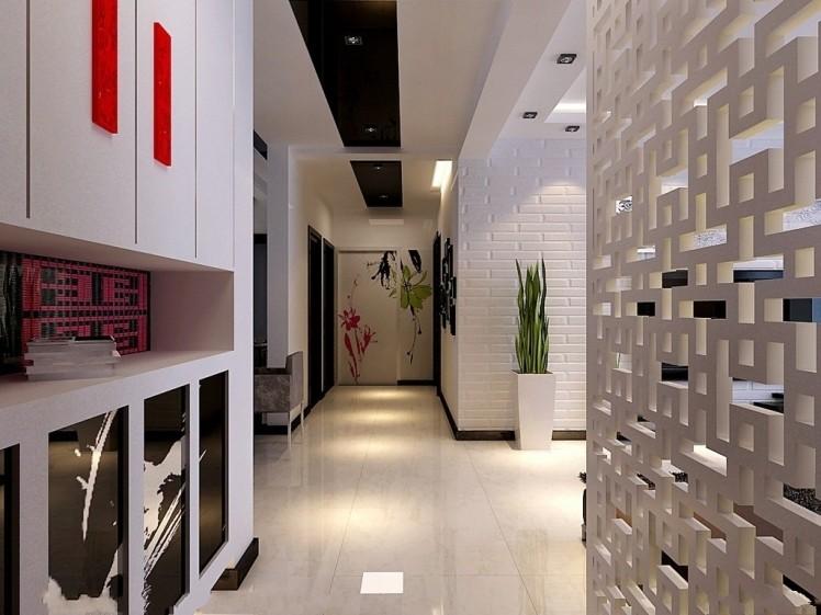 装室内装修设计效果图 现代简约房子房屋家居装修设计图13