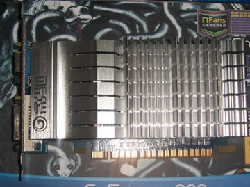 Видеокарта Galaxy  GF210 TC512M 64bit DDR3