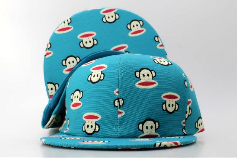 Головной убор Мультфильм snapbacks Пол Франк Пол Симпсон Симпсон Homme плоским полями шляпа бейсболки