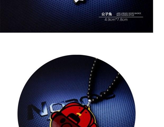 Ожерелье Стимпанк ожерелье город мальчик хип-хоп рэп хип-хоп Hat череп акриловые длинное ожерелье hiphop преувеличенные ожерелье