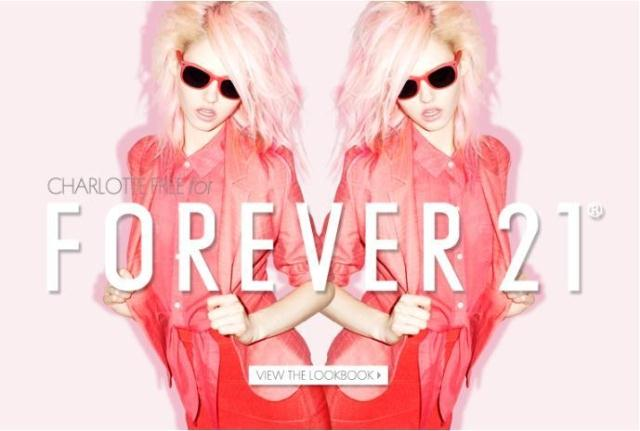 Заколки Forever 21  FOR*EVER 21