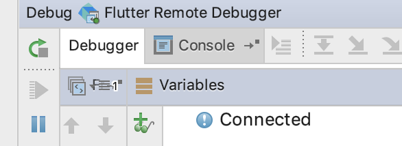 dart-remote-debugger-connected