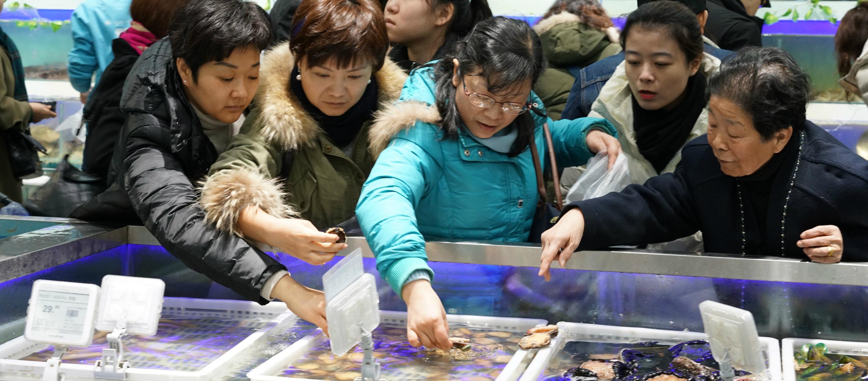 """""""盒区""""式春节:海鲜抢爆、订单暴增5倍"""