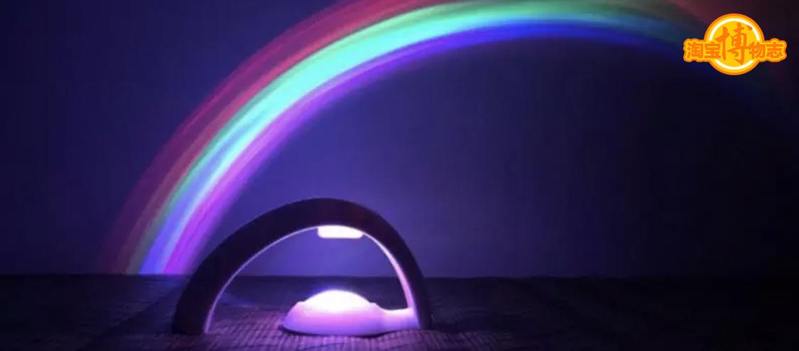 听说,这个灯可以把彩虹抓住!