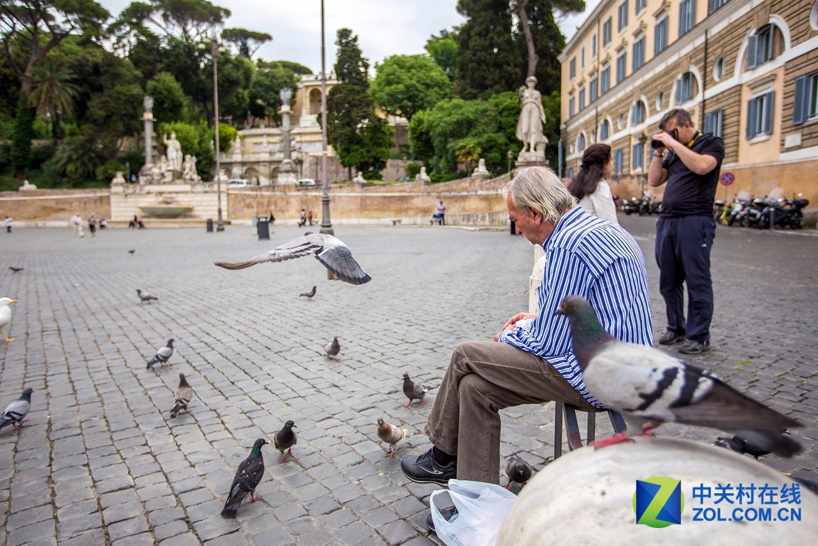大C游世界 意大利的人民广场和