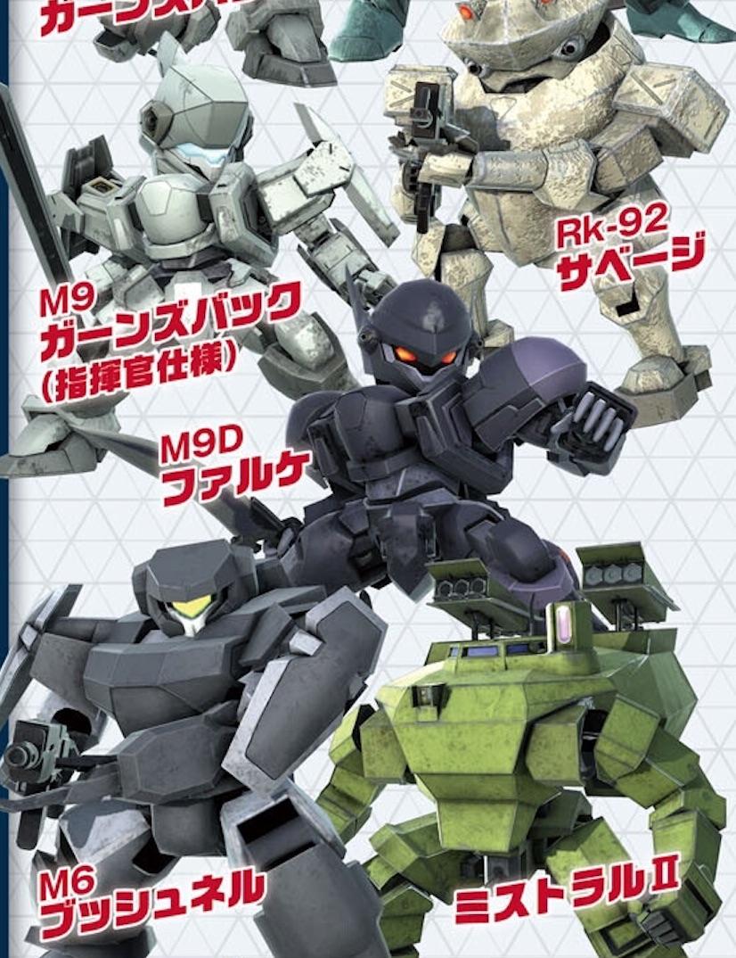《全金属狂潮 谁与争锋》中文版同步发售 参战角色与机体公开