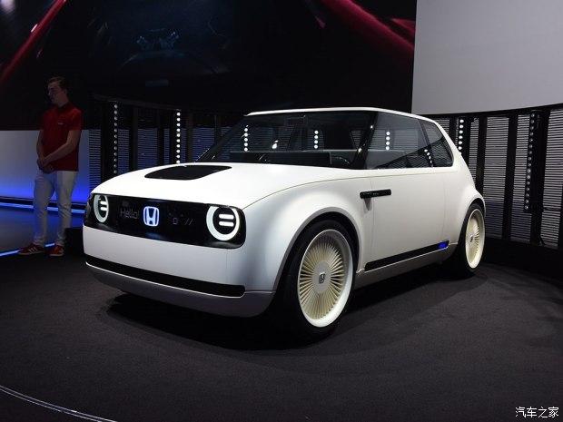明年接受预定 本田宣布量产Urban EV