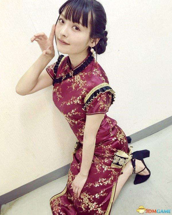 日本美女声优上坂堇最新美照 身