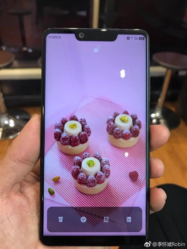 夏普AQUOS S3全面屏真机曝光