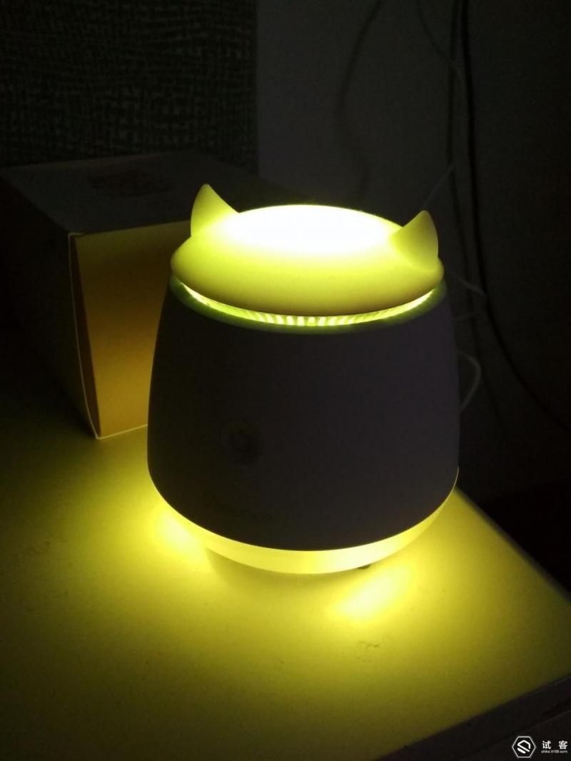 床边的小精灵---声光味的助眠的小工具