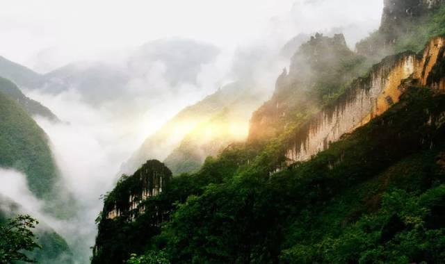春雨绵绵雾中重庆美景你看过几个