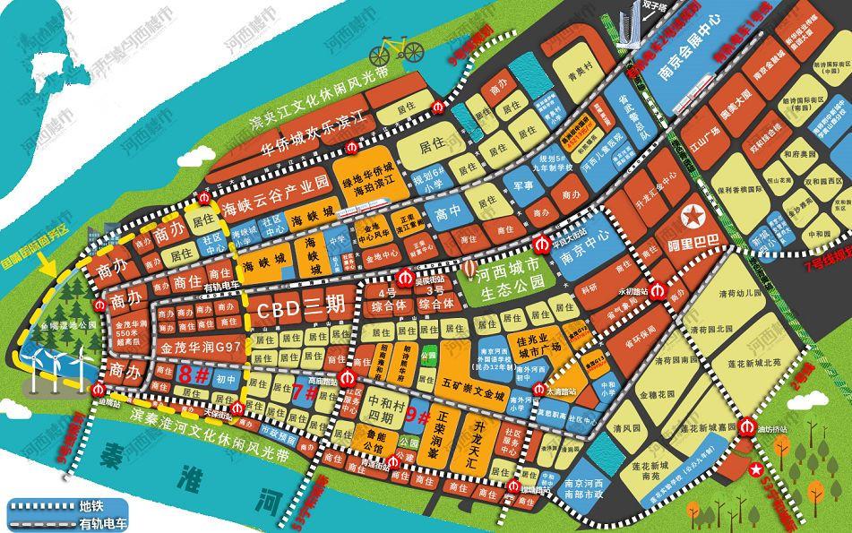 南京河西江北再迎新学区变化!10余所学校动工位置定了