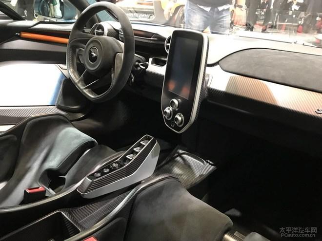 2018日内瓦车展:迈凯伦senna实车发布
