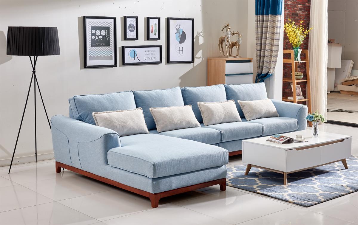 到底是选布艺沙发还是真皮沙发