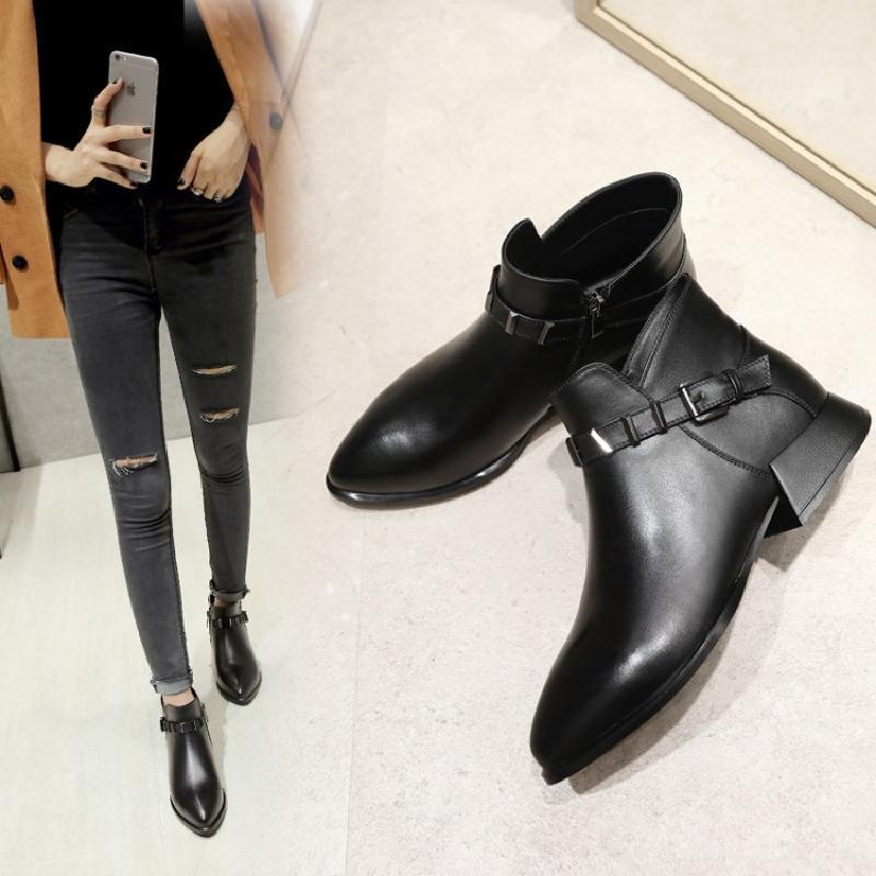2018最流行的女生短靴款式