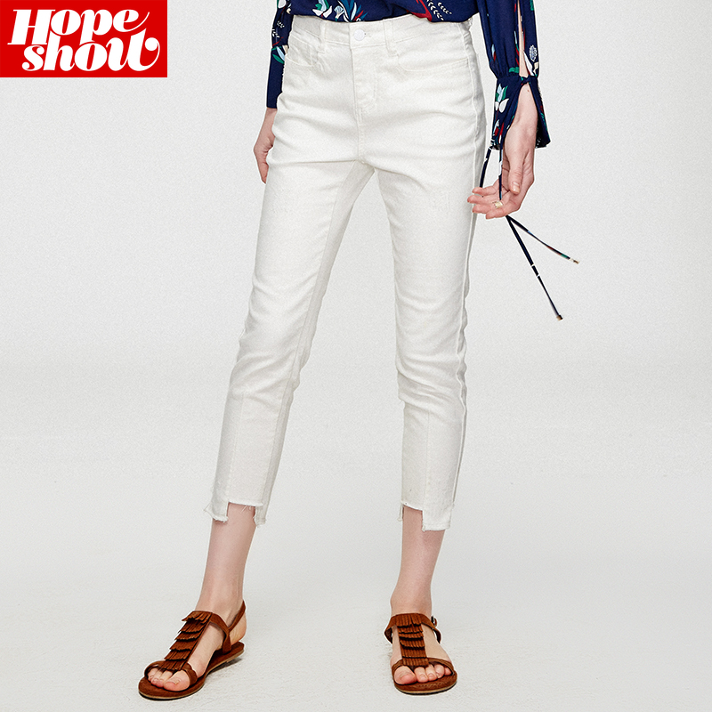 气质牛仔裤,都市小白领