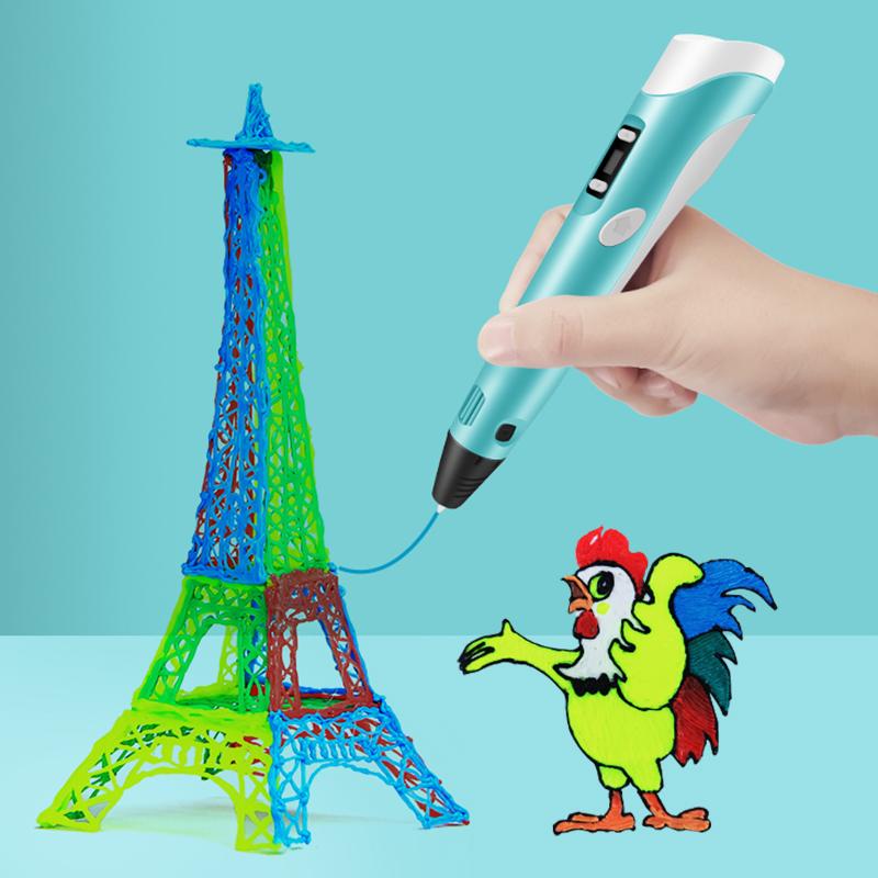 原装兰度新款学生3d打印笔智能涂鸦笔立体绘马良画笔神笔充三D地创意礼品电儿童男女中小学生生日礼物 thumbnail
