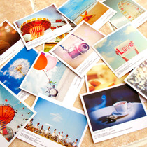 lomo style small card small fresh Polaroid postcard greeting card network after-sales greeting card