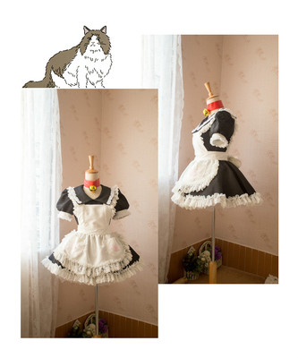 taobao agent 【Fold hell】Tamamo-mae cos Tamamo-meow FATE COS maid outfit COSPLAY