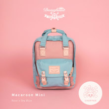 Doughnut doughnut bags, double shoulder backpacks and stationery / WAWOO