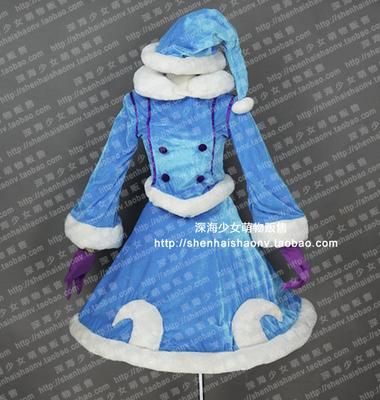 taobao agent Snow Christmas lulu Lulu fairy witch cosplay costume customization