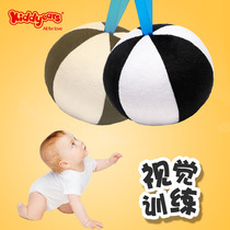 Baby Vision Training ball 0-3 months newborn baby baby visual tracking black and white card early education educational toys