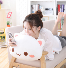 Super soft plush toy with animal pillow