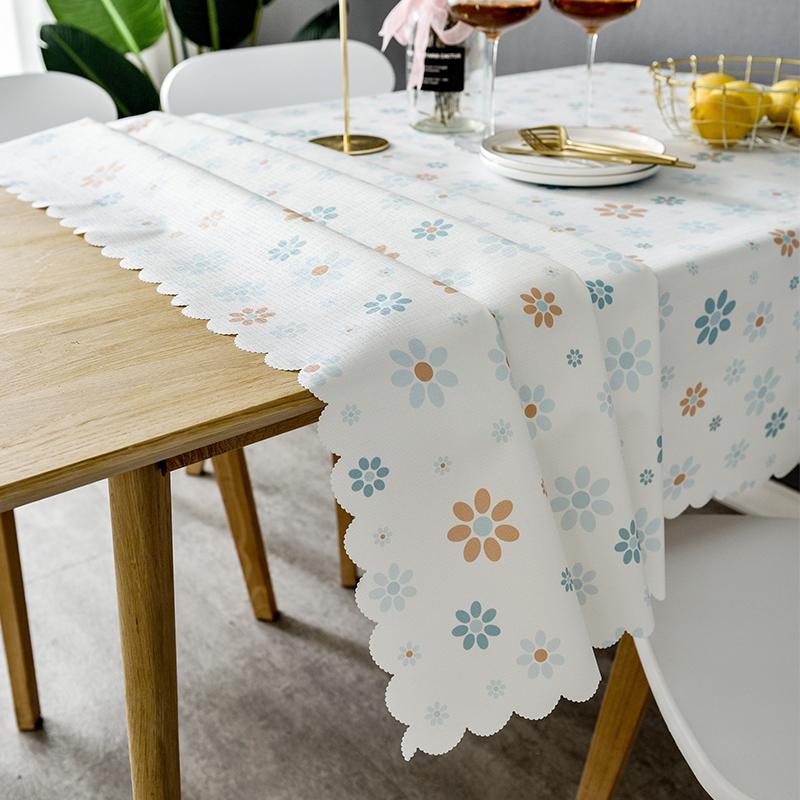 桌布防水防油免洗pvc防烫餐桌垫塑料茶几简约现代北欧小清新台布