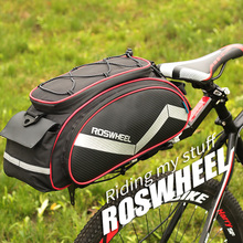 ROSWHEEL mountain bike bag riding tail bag shelf bag shoulder bag bicycle equipment accessories sports bag