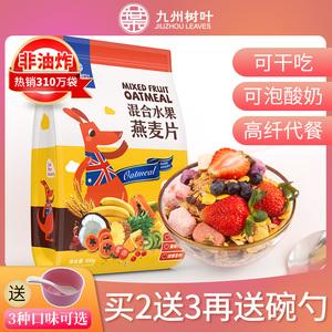水果坚果燕麦片营养早餐即食冲饮酸奶果粒代餐粥饱腹速食懒人食品
