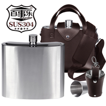 Pepsi 2500 ml 5 jin, 70 wire thickened 304 stainless steel pot, portable outdoor portable kettle.