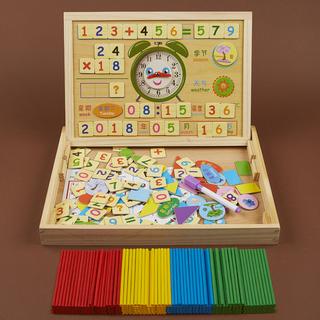 数数棒小棒儿童数学算术教具蒙氏小学一年?#37117;?#20943;法幼儿园益智玩具