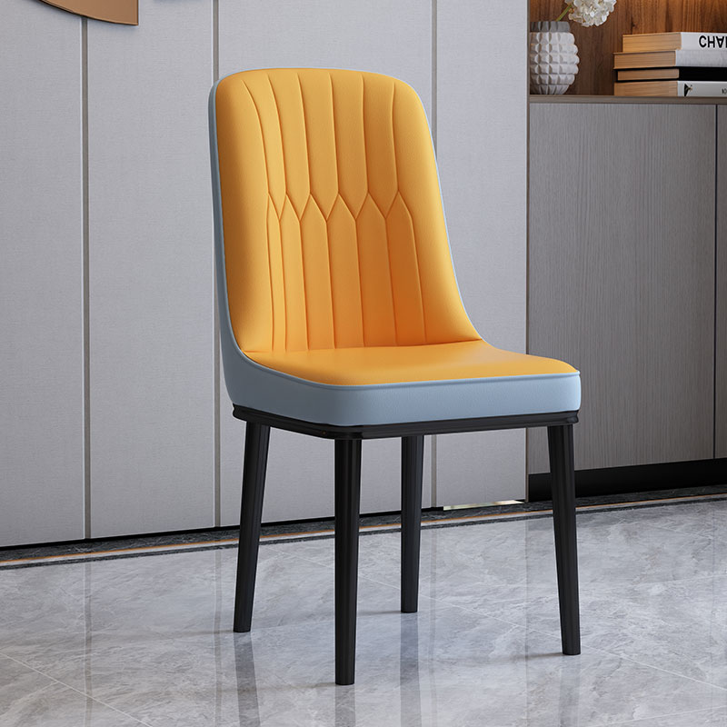Buy Nordic wind dining chair simple family back stool ...