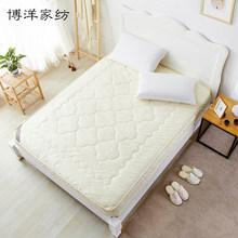 博洋夏季床垫保护垫床笠床褥子1.8m薄席梦思套防滑可洗夏天垫被褥 四季可水洗床褥 1.8m(6英尺)床