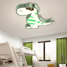 Children's Room Light Simple Modern Female Boy's led Room Roof-lighting Creative Individual Cartoon Dinosaur Bedroom Lamps