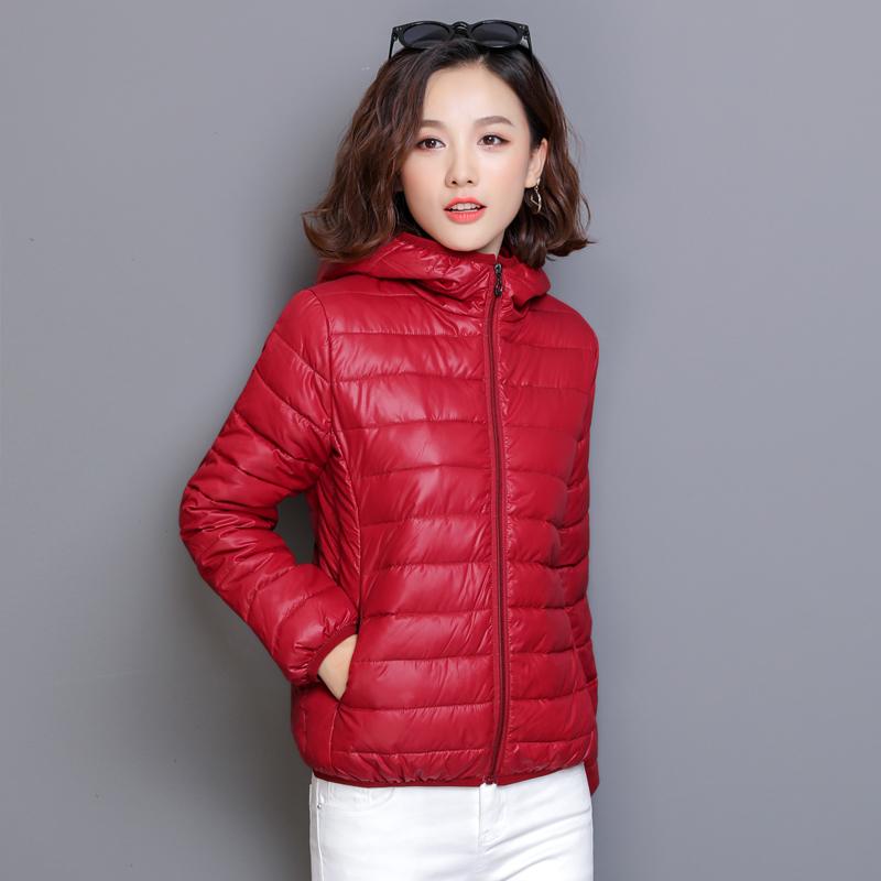2020秋冬款棉衣女韩版棉服修身短款连帽面包服学生加厚棉袄外套女