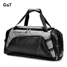 Men's Sports Training and Fitness Bag, Short-distance and Large-capacity Travel Baggage for Women