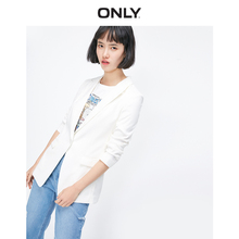 ONLY 2019 Summer New White Loose Casual Thin Suit Jacket 119108522