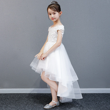 Children's Dress Princess Skirt, Flower Dress, Children's Wedding Garment, Peng Yarn, Little Host's Evening Dress, Girl's Piano Dress