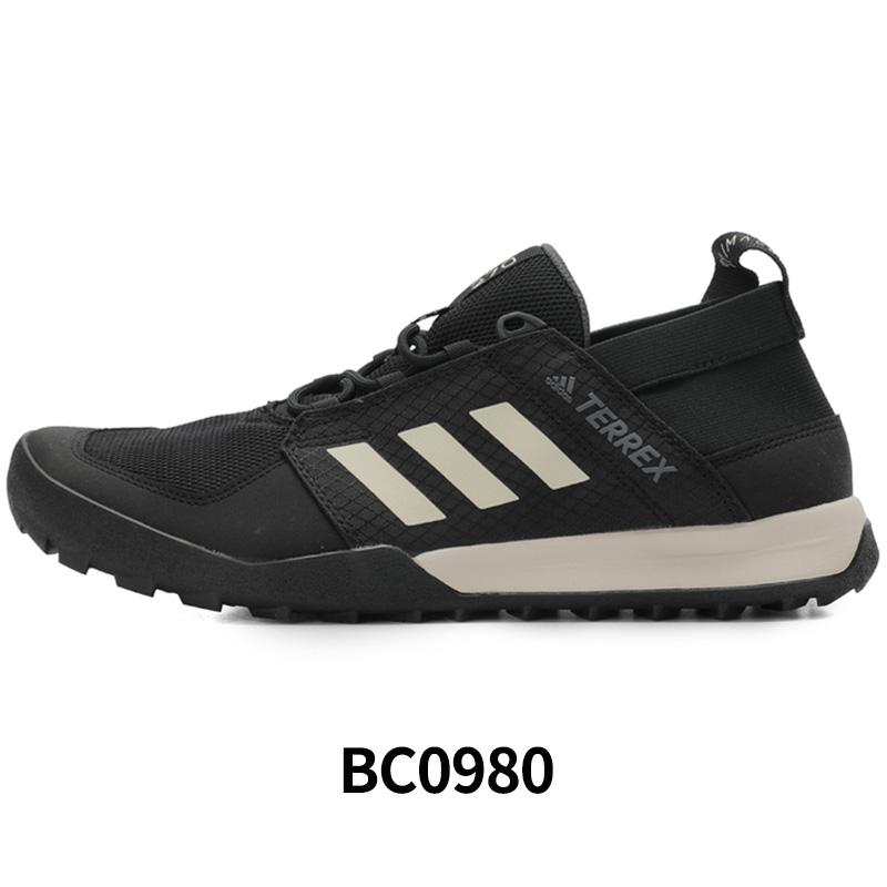 Giày thể thao nam Adidas Giày nữ mùa thu 2019 mùa thu đích thực ngoài trời giày lội ngược dòng giày BC0980 - Khởi động ngoài trời
