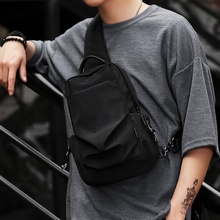 Brassiere Men's Trend Bag 2019 New Outdoor Slant Bag Fashion High Capacity Student's Single Shoulder Bag