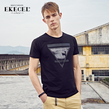 Two Short Sleeve T-shirts for Men in Summer 2019 and Korean Fashion Half Sleeve T-shirts for Men