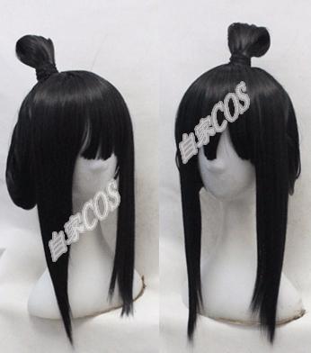 taobao agent Customized Xinlianxin Cosplay Fake Hair COS Onmyoji Face Reiki Female Model Wig Set